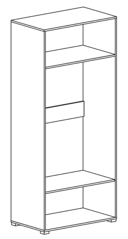 Шкаф 2Д Comforti G (схема)