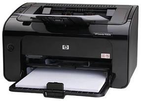 Техническое обслуживание принтера HP А4