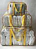 Набор из 3 прозрачных сумок в роддом - S,L,XL - Синие, фото 8
