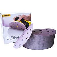 Круг шлифовальный керамический 150мм 15отв Mirka Q.SILVER ACE