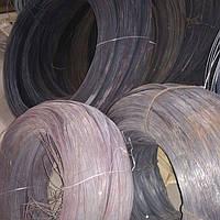 Проволока стальная термически необработанная