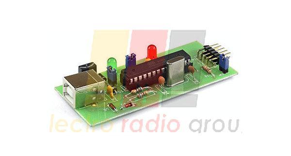 Радиоконструктор M119 (программатор для Atmel USBasp совместимый)