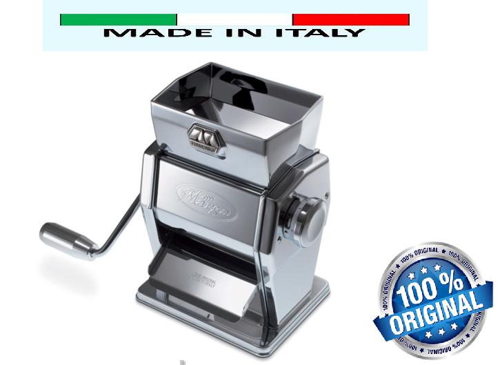 Мельница-флокер для муки и хлопьев мукомолка ручная вальцовая мини мельница Marcato Marga Mulino Италия