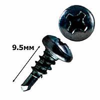 Саморез клоп для гипсокартона 3,5х9,5 фосфатная (1000шт.)