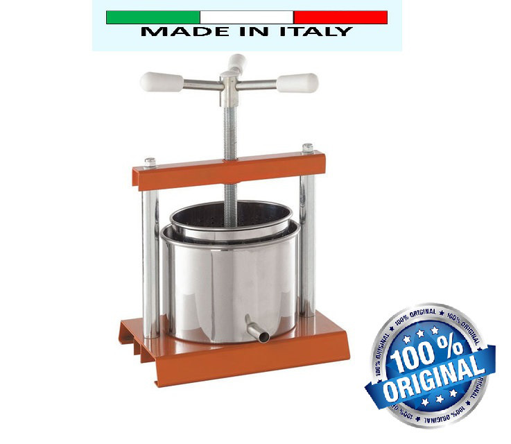 Ручной пресс-соковыжималка OMAC 350 для сока из яблок, фруктов, ягод, цитрусовых, граната Италия