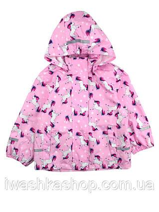 Куртка - дождевик для девочки 4-6 лет, Poсopiano р. 110 - 116