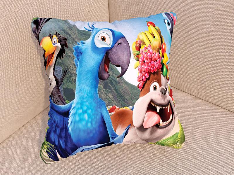 Подушки з фото мультфільм Ріо