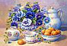"""DM-216 Набор алмазной живописи  """"Цветы на столе"""""""