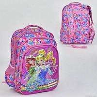 Рюкзак школьный для девочки с 3D изображением