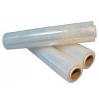 Стрейч пленка, упаковочная, прозрачная (эконом) 17ммХ500ммХ300