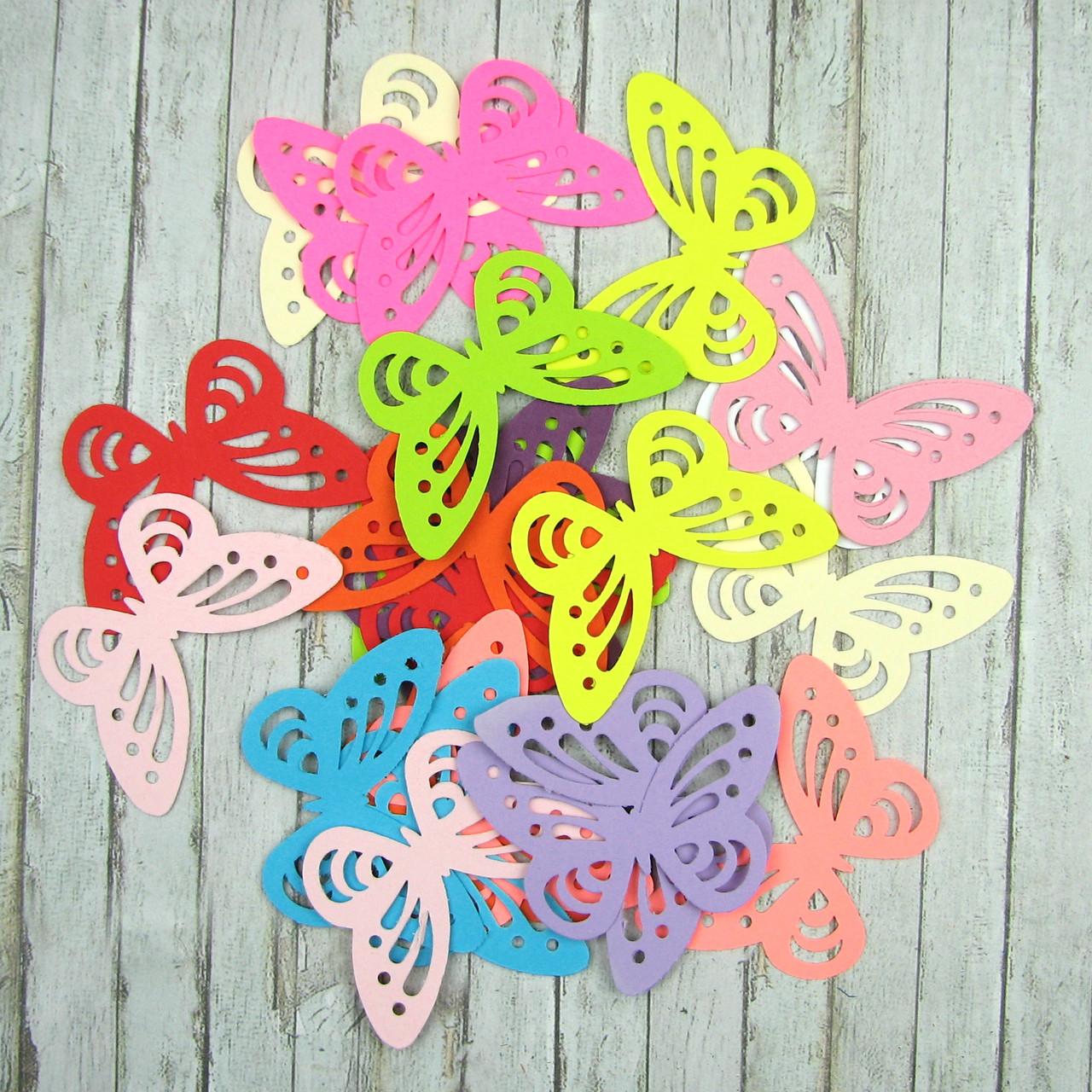 Набор бабочек , 25 элементов