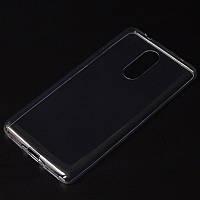 Прозрачный силиконовый чехол Lenovo K6 Note ультратонкий (Леново К6 Ноут Ноте)