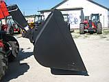 Ковш на Manitou 3м³ -  Зерновой ковш Маниту - в наличии! - ДЕРЖКОМПЕНСАЦІЯ до 40%, фото 4