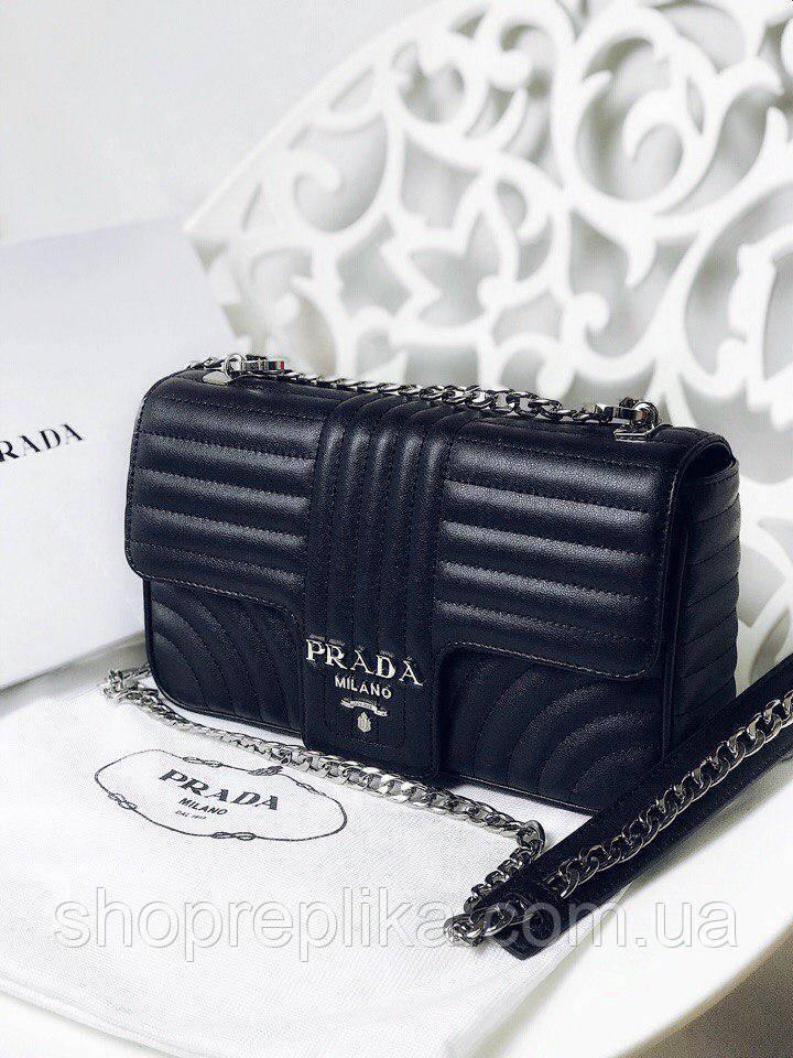 7367b42e840c Сумка реплика Prada , сумки прада купить Турецкие Люкс копии в черном цвете