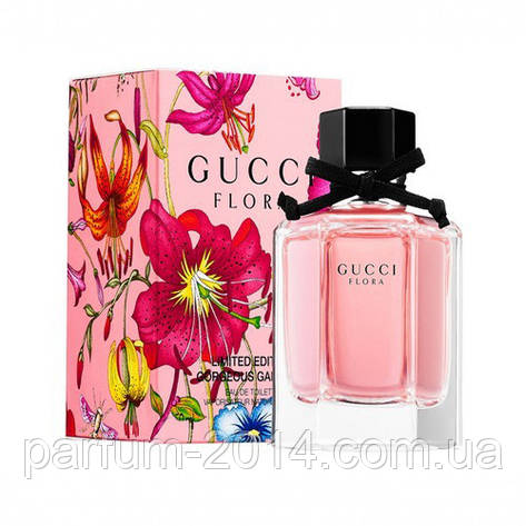 Женская туалетная вода Gucci Flora by Gucci Gorgeous Gardenia Limited Edition (реплика), фото 2