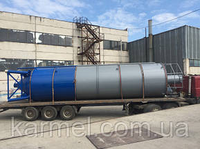 Отправка силоса 60 тон. для хранения минерального порошка