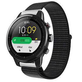 Нейлоновий ремінець Primo для годин Xiaomi Huami Amazfit SportWatch 2 / Amazfit Stratos - Black