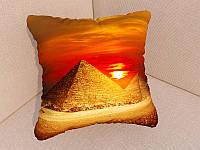 Подушки с фото Пирамиды
