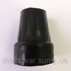 Резиновый накостыльник 19 мм