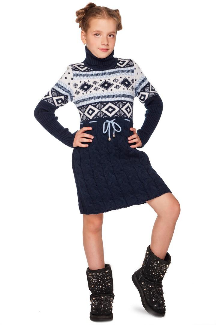 вязаная мода для подростков девочек