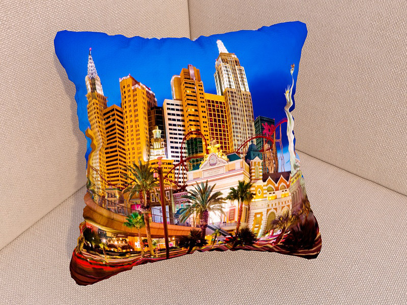 Подушки с фото Лас-Вегас