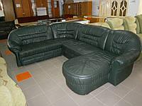 Кожаный мягкий угловой диван из Германии б/у, фото 1