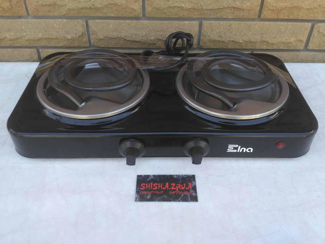 Печка-плитка электрическая для розжига углей ЭЛНА (2000W)