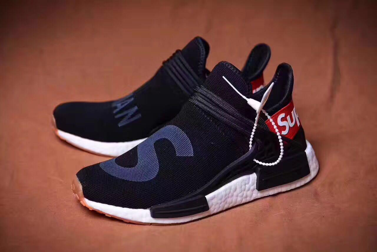 first rate 02d5f 0b810 Кроссовки Authentic Adidas NMD Human Race Black Red Supreme