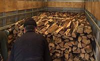 Дрова дубовые колотые с доставкой
