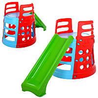 Дитяча гірка вежа 377, фото 1