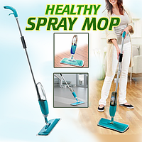 Универсальная швабра для уборки с распылителем Healthy Spray Mop, фото 1