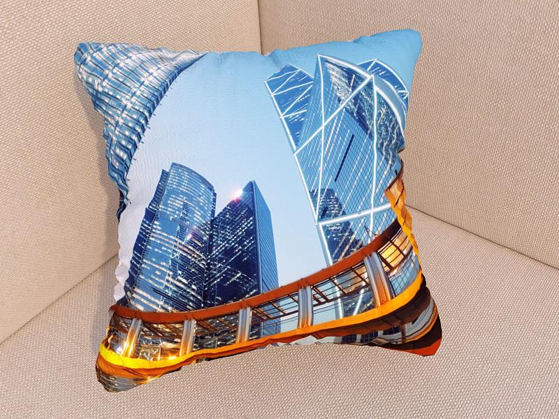 Фото подушки небоскребы