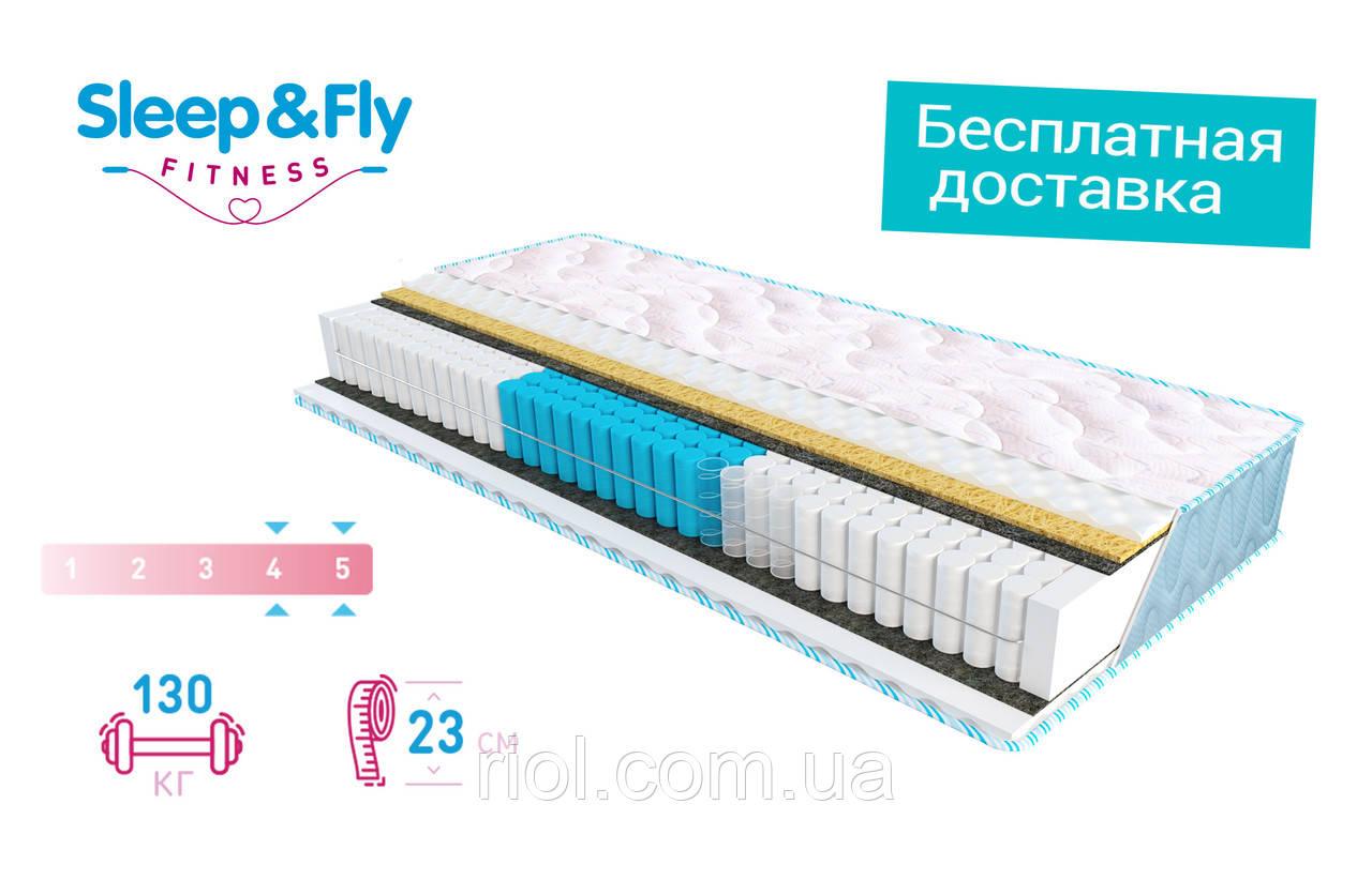 Матрас Daily 2v1 Fitness / Дейли 2в1 Фитнес от Sleep&Fly