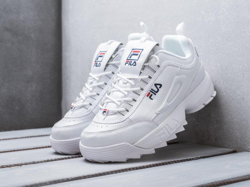 Женские кроссовки Fila Disruptor 2 Bright White - Интернет магазин обуви  «im-РоLLi» a35f22ef86da7