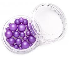 Жемчуг MIX фиолетовый
