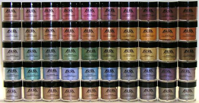 Рассыпчатые пигменты (Precious Space) Asura