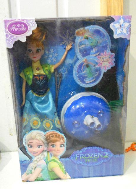 Кукла Фрозен Анна музыкальная 8876