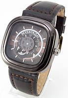 Мужские наручные часы SevenFriday (черные + коричневые), фото 1