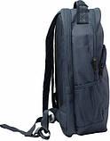 Качественный синй рюкзак унисекс Bagland UltraMax 20л размер 48*28*15 см, фото 2