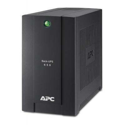 Источник бесперебойного питания APC Back-UPS 650VA, Schuko (BC650-RSX761)