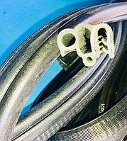 Ущільнення дверних прорізів кабіни ГАЗ-3307 комплект на 2 дверні прорізи / 4301-6107126-01