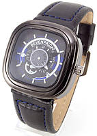Мужские наручные часы SevenFriday (черные + синие), фото 1