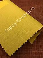 Рулонная штора LEN желтый, фото 1