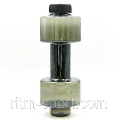 Бутылка для воды Гантель 760 мл , фото 2