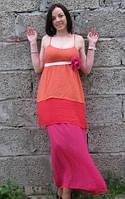 Платье коктейльное макси Rinascimento в размере S