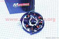 Статор магнето  8 катушек  для   скутеров  4 т  Mototech