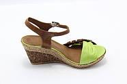 Літні шкіряні босоніжки Sasha 805-27, фото 3