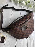 Женския копия Луи витон сумка бананка Louis Vuitton на пояс, фото 1