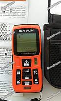 Профессиональный лазерный дальномер (рулетка) Lomvum LV50, фото 2