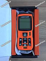 Профессиональный лазерный дальномер (рулетка) Lomvum LV50, фото 3